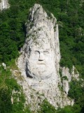 Statue of Decebalus is the Tallest Structure in Europe Carved in Rock (131 feet tall)