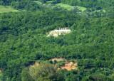 Monument to Marshal Tito on Serbian Hillside Overlooking Iron Gate Lock 1