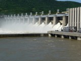 Water Release from Iron Gate Dam