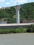 Unused Guard Tower on Romanian Side of Danube