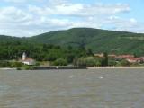 Serbian Village on Banks of the Danube