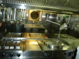 This Kitchen is Used to Prepare 3 Meals a Day for 140 Guests + Crew