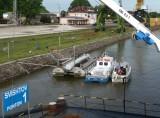 Docked in Svistov, Bulgaria