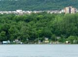 Looking Across the Danube from Svistov, Bulgaria