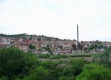 Veliko Tarnovo with the Monument of Assens