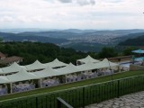 Preparing for Arbanassi Wedding Overlooking Veliko Tarnovo