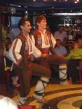 Bulgarian Folk Dance Performance in the Lounge