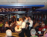 Bulgarian Musicians Entertain in the Lounge