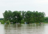 Danube Water Level Threatens Fish Camps