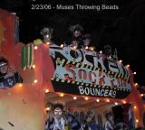 Muses Throw Beads