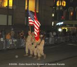 Color Guard for Hermes Parade