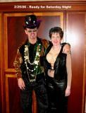 Bill & Susan Ready for Bourbon Vieux