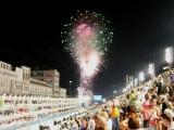 Fireworks Before 1st Samba School (Mocidada)