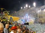 1st Elements of Tijuca Departing Sambadromo