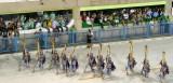 Beginning of 4th Samba School (Vila Isabel)