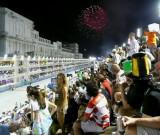 Fireworks Before 5th Samba School (Grande Rio)