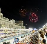 Fireworks Before 6th Samba School (Beija-Flor)