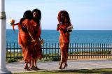 WOMEN IN ORANGE