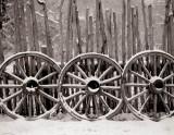 Wagon Wheels, Garden of the Gods, Colorado, 1998