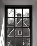 Through the Window of the Inn, Williamsburg, 1997