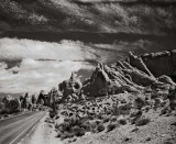 Fiery Furnace, Arches National Park, 2000