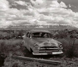 Sangre de Christo Mountains and Wrecking Yard, 2001
