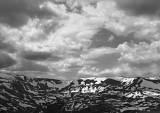 Summer Snow Fields, Rocky Mountains, 1997