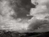 Summer Storm, Rocky Mountain National Park, 1997