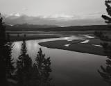 Yellowstone River at Dusk, 2001