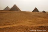 Giza: the three pyramids complex