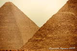 Great Pyramid and Pyramid of Chephren
