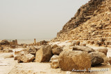 Pyramid of Mykerinos: detail