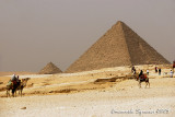 Pyramid of Mykerinos and Pyramids of Queens