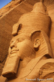 Ramesses II with thw double crown of Lower and Upper Egypt