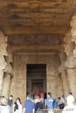 Inside eight huge Osirid pillars