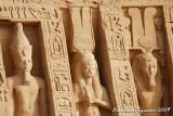 Ramesses II and his wife Nefertari