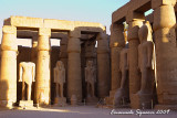 Colossal statues of Ramesses II