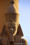 Closeup of Ramesses II