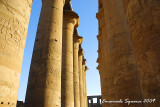 The Colonnade of  Amenhotep III's temple