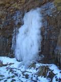 Another frozen falls