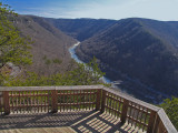A gorgeous view of the New River Gorge