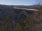The New River Gorge Arch Bridge