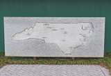 NC map in stone