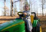 Connor's big tractor!