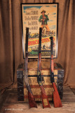 Gun trio with large poster 3977