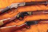 Gun trio on leather 4075