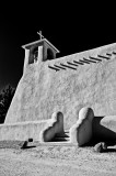 St. Francis of Assisi Mission Church 5 bw