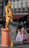 Oslo: A Living Statue