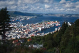 Bergen: Aerial View