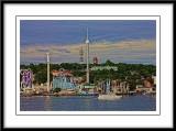 A closer view of Gronalund amusement park....